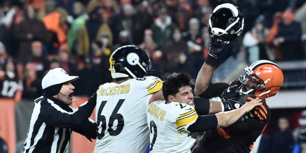 The NFL suspended 3 in connection to the Myles Garrett-Mason Rudolph's melee, but people are appalled that the Steelers QB got off scot-free