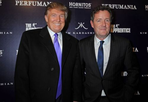 Someone Pretended To Be Piers Morgan And Managed To Speak To Donald Trump On Air Force One