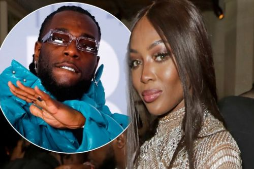 Naomi Campbell and Burna Boy spark romance rumours with 'touchy feely' meeting