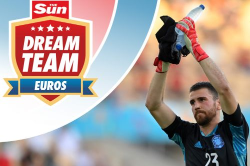 Spain's first-choice goalkeeper appears in just 0.8% of Dream Team Euros sides