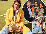 Boris Becker's sonElias, 22, is named one of Britain's mosteligible people by Tatler