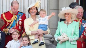 The Cambridge children have picked up a very usual habit from Camilla