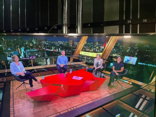 BBC viewers rattled by peek at what Tokyo Olympics studio actually looks like behind-the-scenes