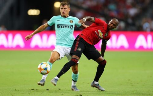 Ashley Young booed by Man Utd fans in Inter clash despite being favourite to be named new captain
