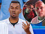 Tennis bad boy Nick Kyrgios 'partied non-stop for a WEEK with his hairdresser'