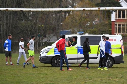 Police break up footballers flouting COVID lockdown laws with weekend match