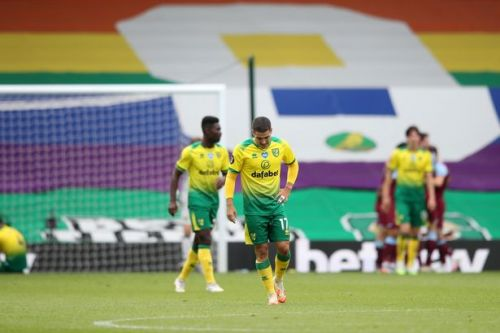 Norwich relegated from Premier League following defeat to West Ham