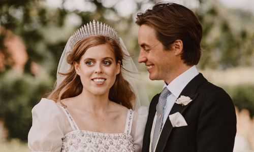 Princess Beatrice wore the most down-to-earth outfit the night before her royal wedding