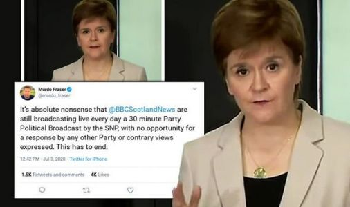 Sturgeon told to END 'party political broadcast' briefings as SNP leader sparks fury