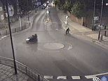 Hunt for moped caught on CCTV fleeing scene after boy, two, was shot ias police offer £20k reward