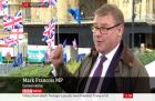 Watch: Mark Francois rebukes 'stop Brexit' protester