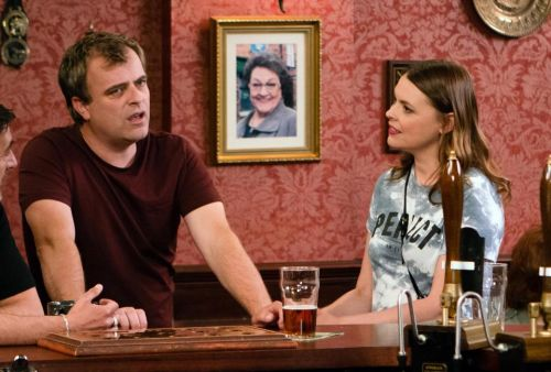 When are Steve McDonald and Tracy Barlow getting married and will Steve's dad Jim McDonald be allowed to attend the wedding?