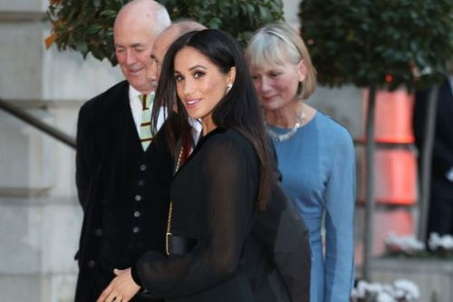 Meghan Markle steps out in black for milestone first solo engagement as royal at Royal Academy of Arts