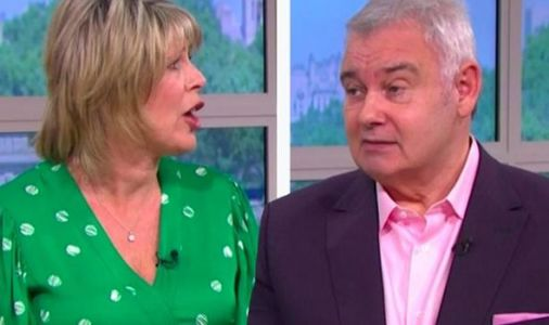 Eamonn Holmes red-faced after Ruth exposes his 'secret online dating' in shock moment