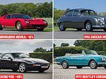The bank busting classic cars of 2020 revealed