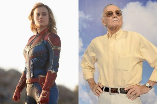 Poignant Captain Marvel cameo pays special tribute to Stan Lee