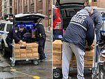 NYPD hands out 80k hand sanitizers and 500 gallons of bleach to police officers