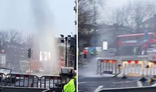 WATCH election 2019 chaos as burst water main stops Londoners visiting polling station