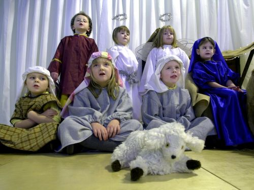 Nine pictures from nativity plays in Edinburgh and the Lothians which will take you back
