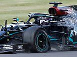 Lewis Hamilton's dangerous blow-out in Silverstone victory on three wheels was not caused by debris