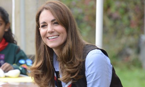 Kate Middleton wows in skinny jeans and chunky boots at surprise Scouts appearance