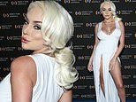 Courtney Stodden is a vision in white as she lends her support at Mercy For Animals Gala in LA