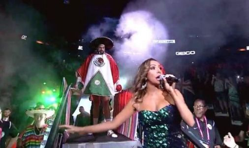 Why is Tyson Fury wearing a Mexican poncho and sombrero for ring walk vs Otto Wallin?