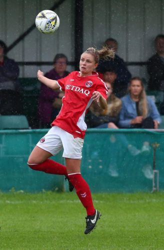Charlotte Kerr leaves hospital with bruised ribs after horror collision forced Man Utd vs Charlton Women tie to be abandoned