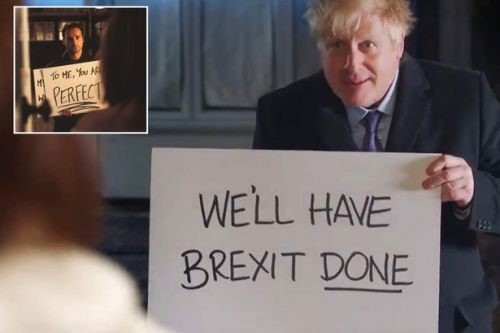 Boris Johnson copies Labour candidate's Love Actually inspired campaign video