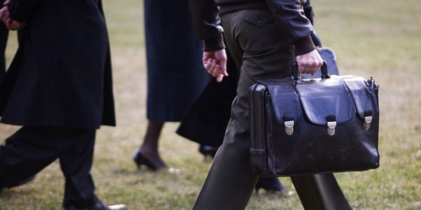 Here's where the 'nuclear football' came from and why it follows US presidents wherever they go