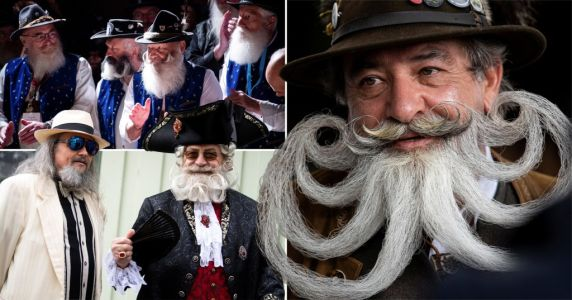 Beard Olympics sees men head to Germany to test the mettle of their facial hair