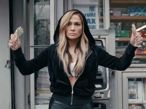 Jennifer Lopez plays a stripper out for revenge in the star-studded trailer for her new movie 'Hustlers'