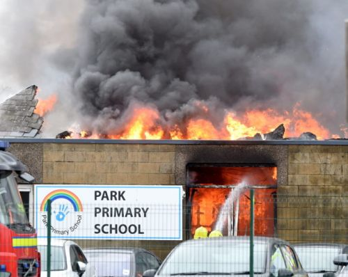 Highland Council ditch 120 old laptops following primary school blaze