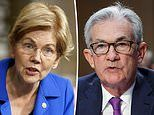 Elizabeth Warren calls Fed chief Jerome Powell a 'dangerous man' and will oppose his re-nomination