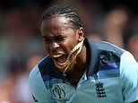 England pace ace Jofra Archer is the 90mph terror machine
