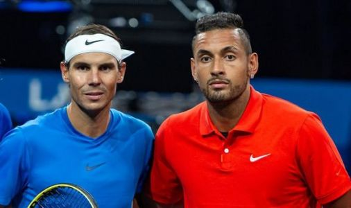 Nick Kyrgios fires shot at Rafael Nadal day after Spaniard's wedding to Xisca Perello