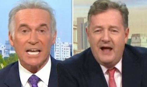 GMB row erupts as Piers Morgan and Dr Hilary clash over PM rule break 'Stop defending him'