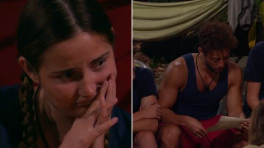 I'm A Celebrity gets awkward as Myles Stephenson reads Dan Obsorne's letter following cheating allegations