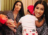Cardi B is a loving mother as she cradles Kulture while candidly answering 73 questions for Vogue