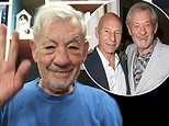 Ian McKellen wishes Patrick Stewart happy 80th birthday