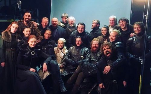 Game Of Thrones cast WhatsApp lives on following season 8 finale