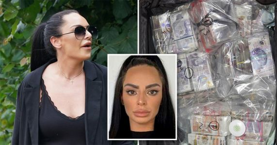 Woman who tried to smuggle £1,900,000 out of UK in suitcases jailed