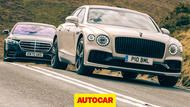 2021 Mercedes-Benz S-Class vs Bentley Flying Spur video review: the world's best luxury saloon?