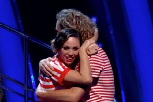 Strictly Come Dancing: Fans REJOICE as Seann Walsh and Katya Jones avoid eviction after controversial kiss amid pair's 'awkward' glances