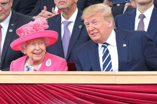 Donald Trump claims the Queen 'never had so much fun' during his state visit to UK