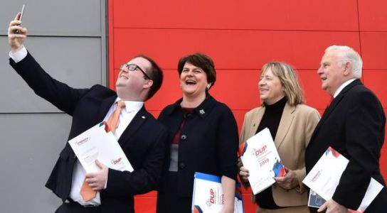 Split unionist vote would bolster SF's border poll demands, says Foster as DUP launches manifesto