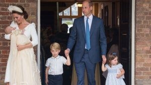 This is when Prince George, Princess Charlotte and Prince Louis will start bowing to the Queen
