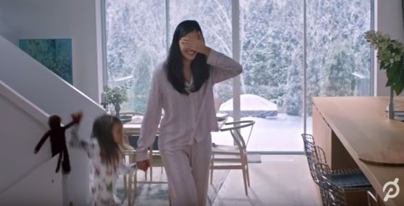 Actress in Peloton's viral holiday commercial says she is 'shocked and overwhelmed' by the response