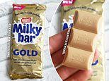 Milkybar to bring out it's own Caramilk style chocolate bar to rival Cadbury's popular block