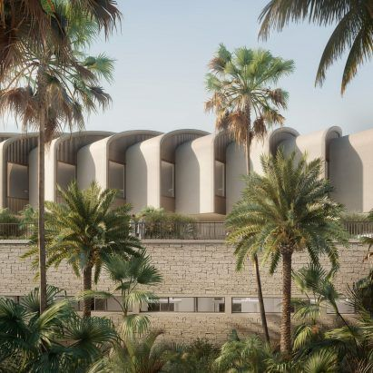 """Foster + Partners' Cairo hospital embodies """"latest research on biophilia"""""""